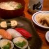 寿司屋さんの昼定食