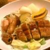 温野菜と鰻のサラダ
